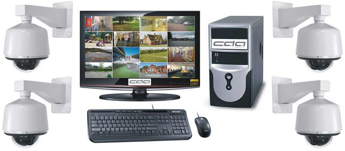 CDA Solutions HD Digistore CCTV Systems